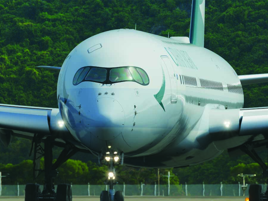 Cathay Airways Flugzeug